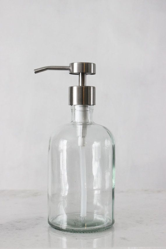 replace all those plastic bottles in my shower with glass pumps - can get expensive, try to find cheaper