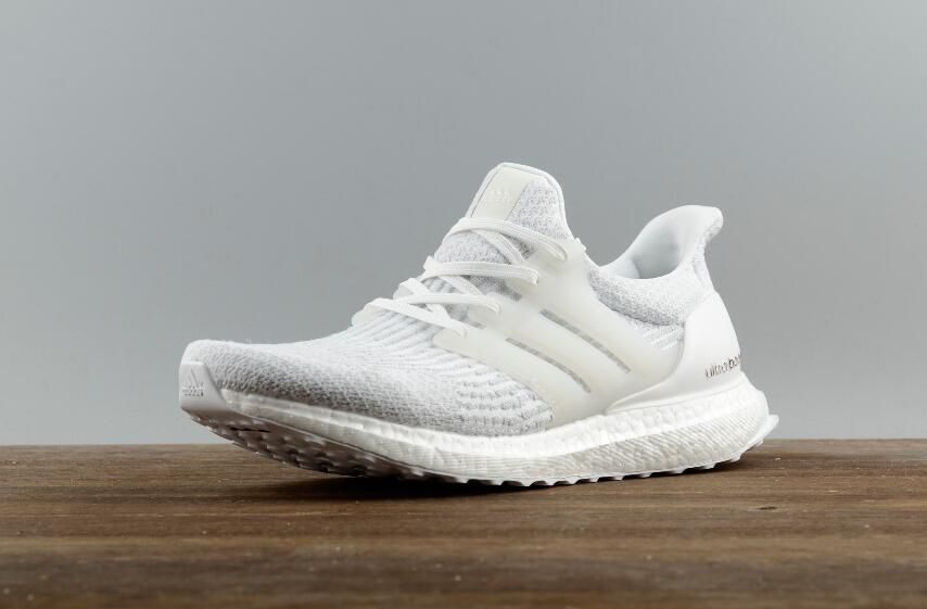 906c29e71cc Free Shipping Authentic Adidas Ultra Boost 3.0 Real Boost All White ...