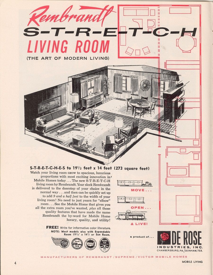 Retro Mobile Homes Many People Are Buying Vintage Mobile Homes To Remodel Them Or