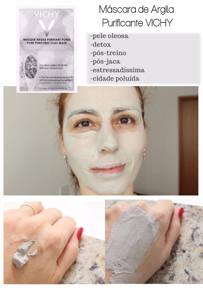 Mascara Mineral Vichy Reequilibrante Argila Purificante Efeito