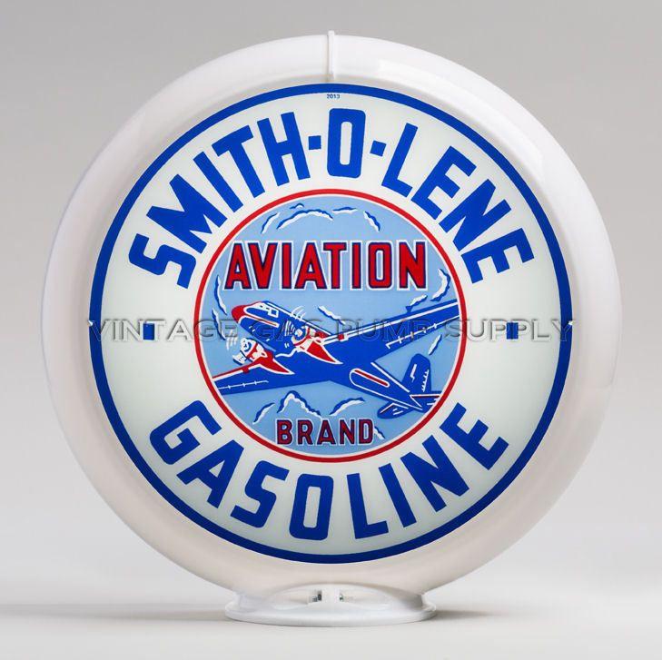 Smitholene Gasoline and Motor Oil Garage Sign