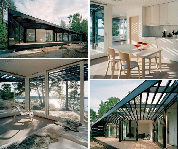 Furniture Modern Howchow Furniture Design For Cozy Home: Roundup: 12 Cozy Scandinavian Modern Cabins