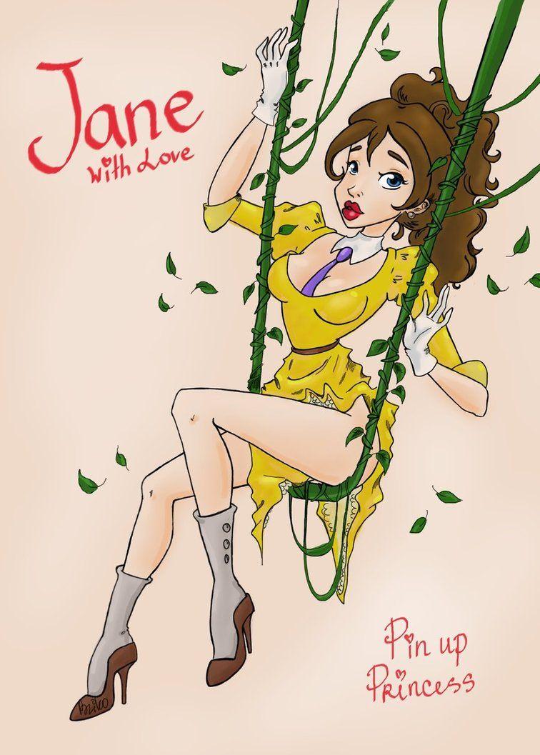 Jane. Pin up Princess by BzikO on DeviantArt