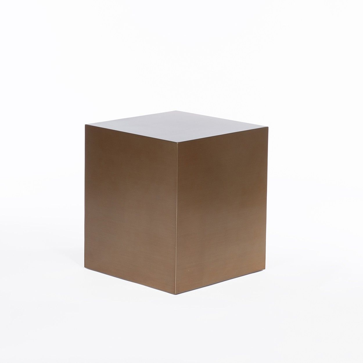 Brass Drum Side Table Square New Product Products Pinterest - Brass drum side table