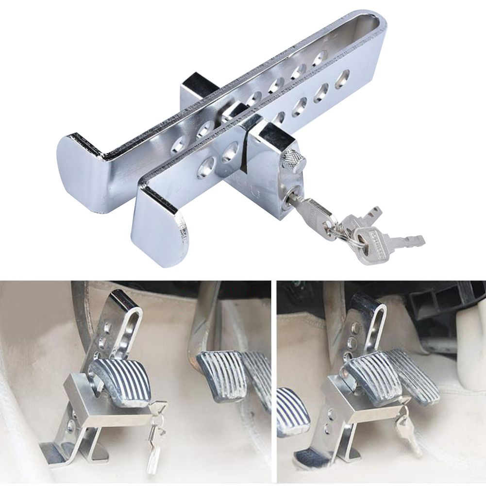 best price auto car brake clutch pedal lock stainless anti theft