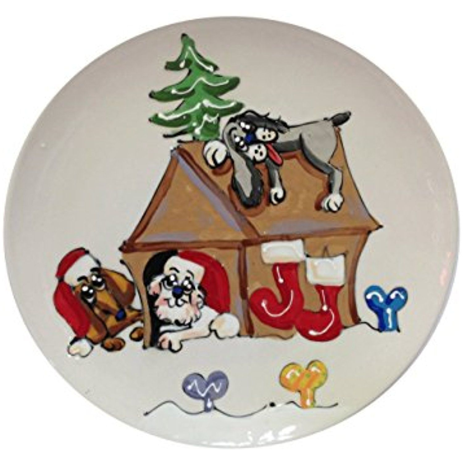 """Dachshund 6"""" Ceramic Dog Bowl for Food or Water"""