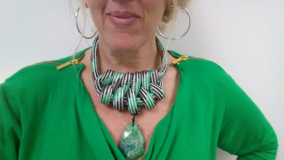 Love my new necklace designed by Whitney!
