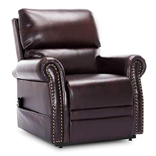 Pleasant Harperbright Designs Power Lift Chair Recliner Pu Leather Gamerscity Chair Design For Home Gamerscityorg