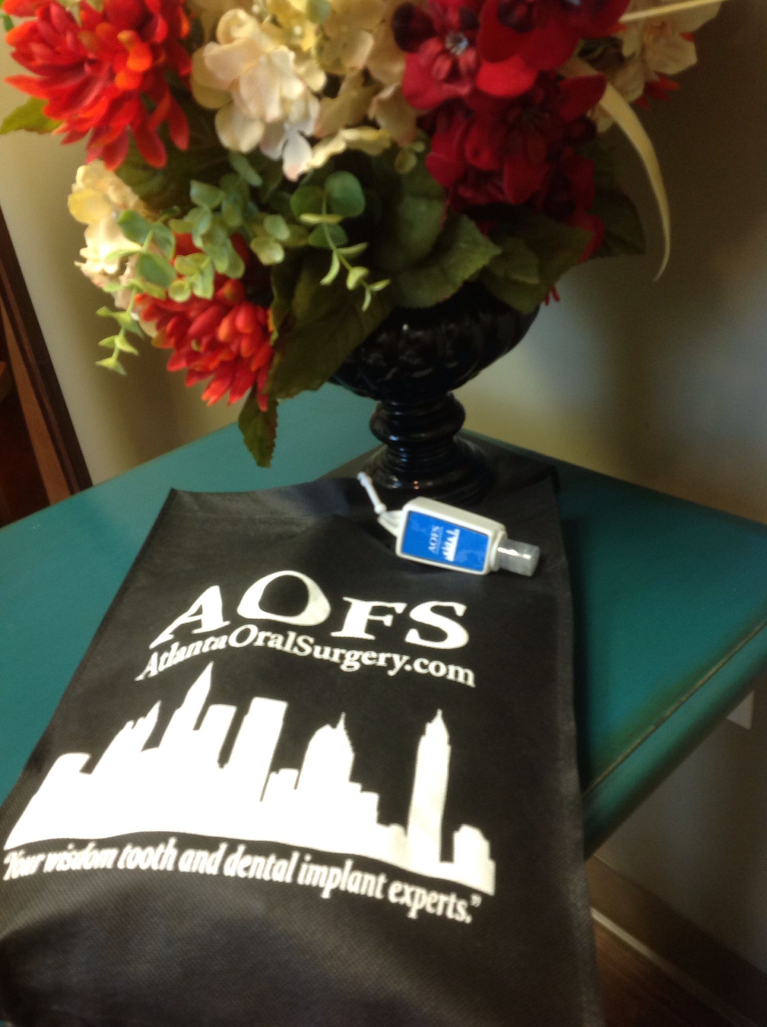 Cute package from Atlanta Oral Surgery #AtlantaOralSurgery ...