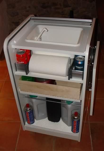 Mueble fregaderohornilla Ikea Copiando a Iaki