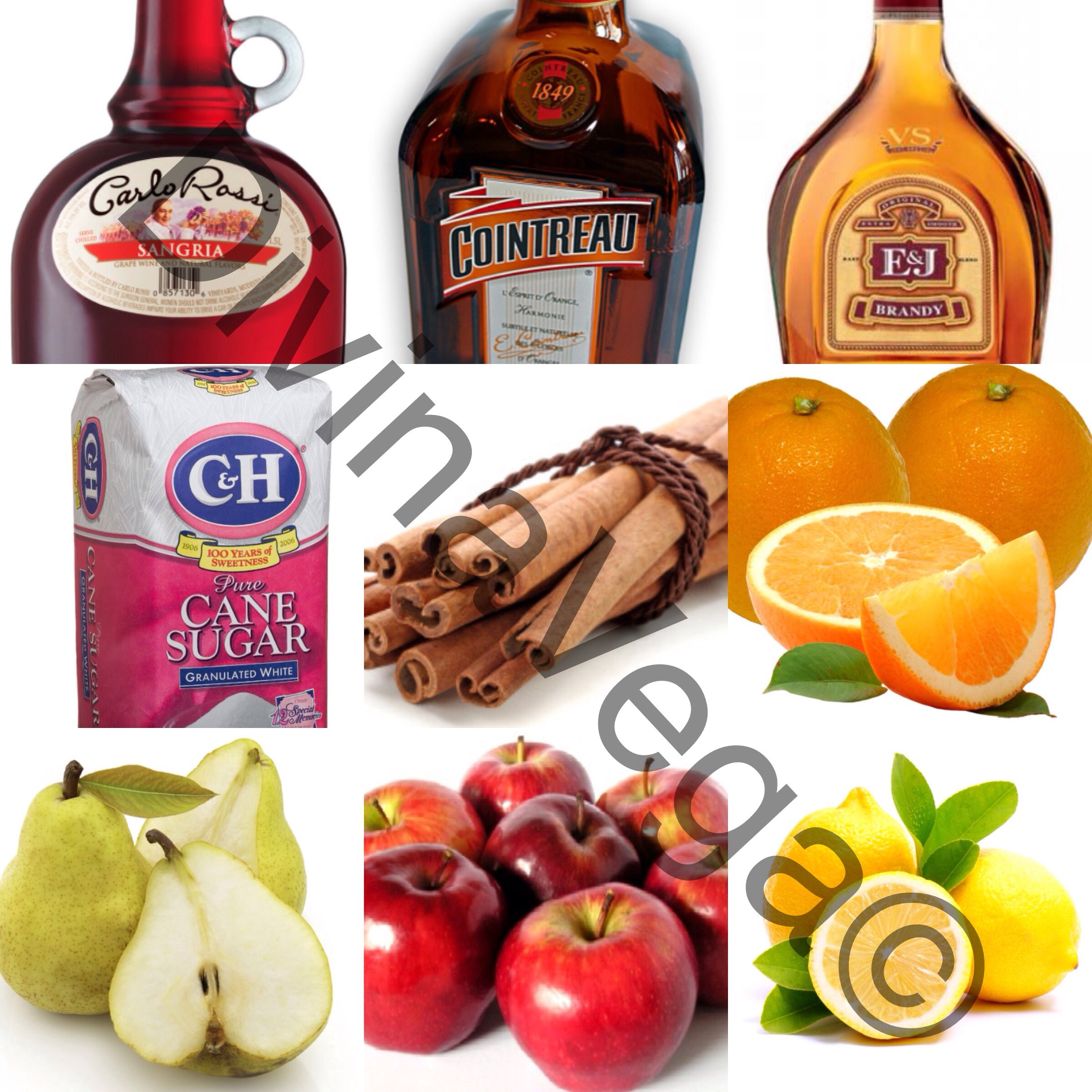 The Best #Sangria you will ever have!!!!! No directions needed just mix & taste to your liking.