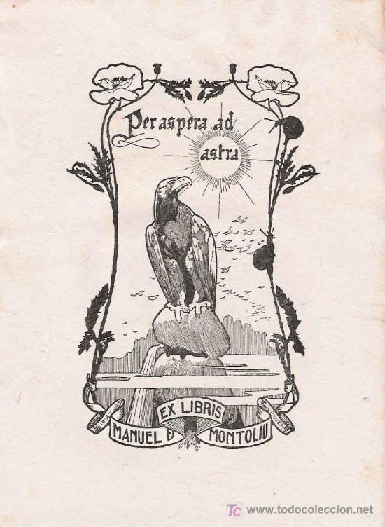 ex libris manuel de montoliu