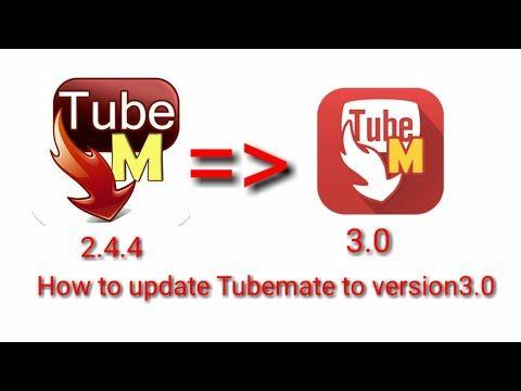 How to update Tubemate to3.0 new version YouTube Video