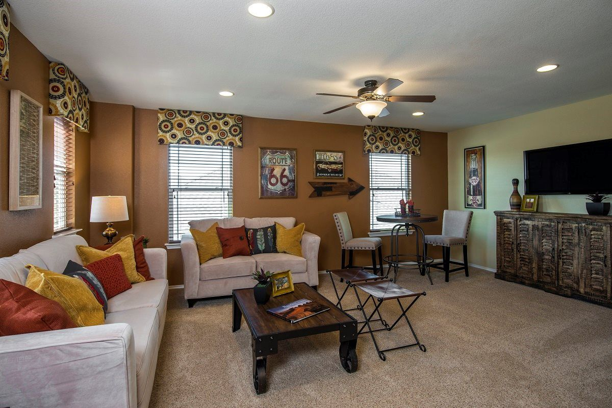 New Homes In Georgetown, TX   La Conterra The A 2502 Game Room