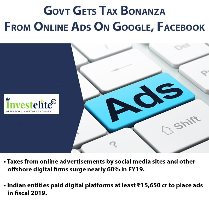 Taxes From Online Advertisements By Social Media Sites And Other