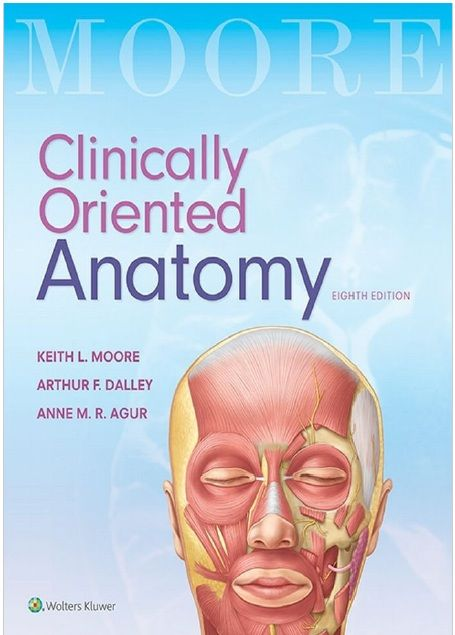 Clinically Oriented Anatomy 8th Edition PDF | Moore's
