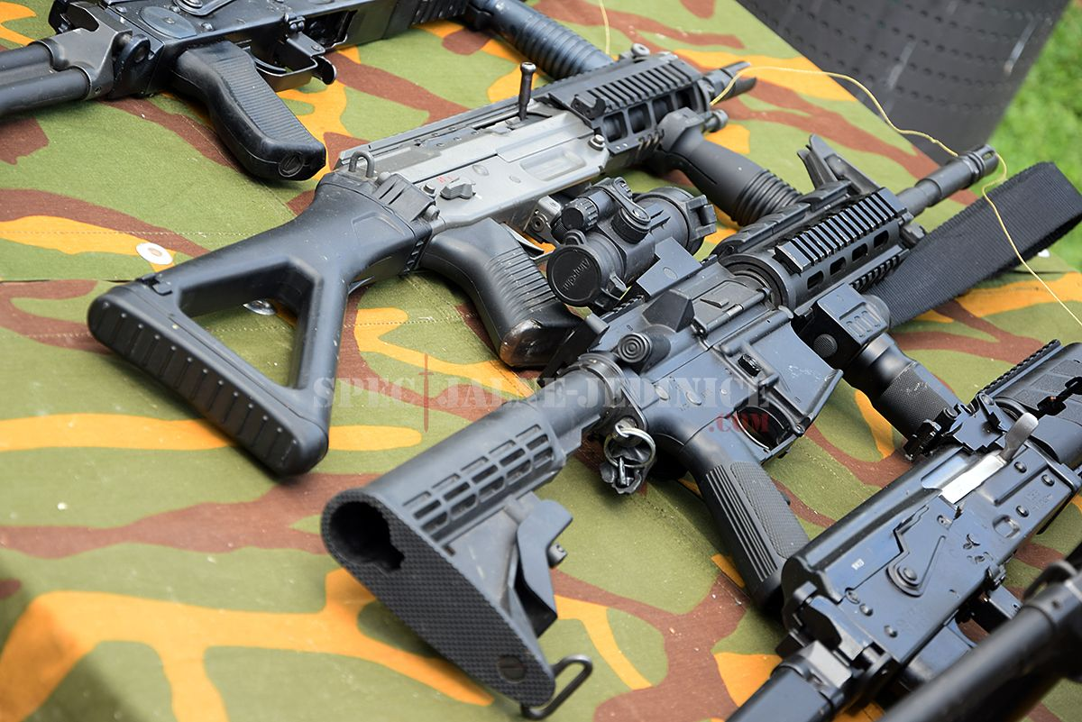 #Serbia - Rifle systems used at Special Anti-terrorist Unit of the Ministry of