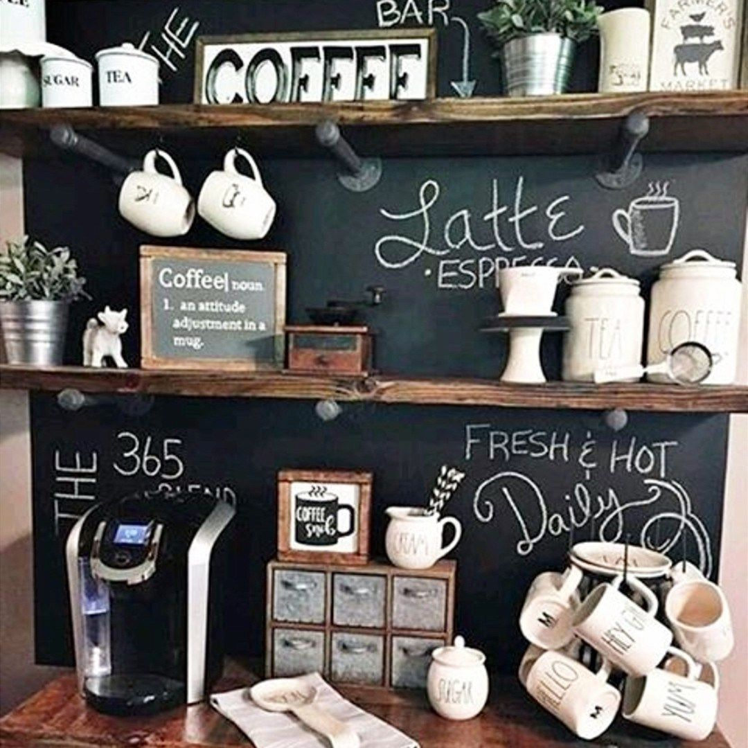 Tiny Craftsman Comes With Espresso Station: Stunning Farmhouse Style Beverage