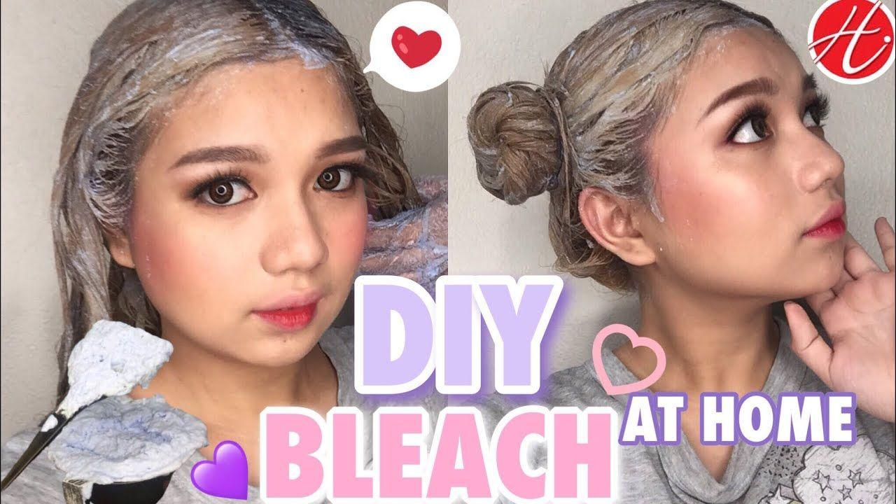 Diy Bleach At Home Dark Ash Blonde Haircolor I Hortaleza