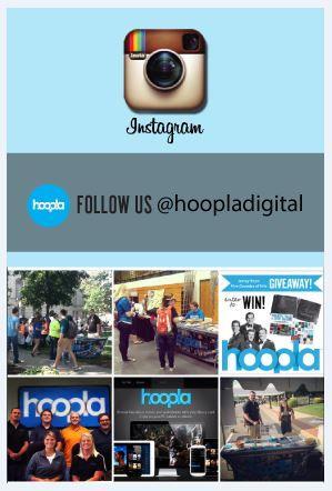 hoopla's on Instagram! Follow hoopladigital to see what