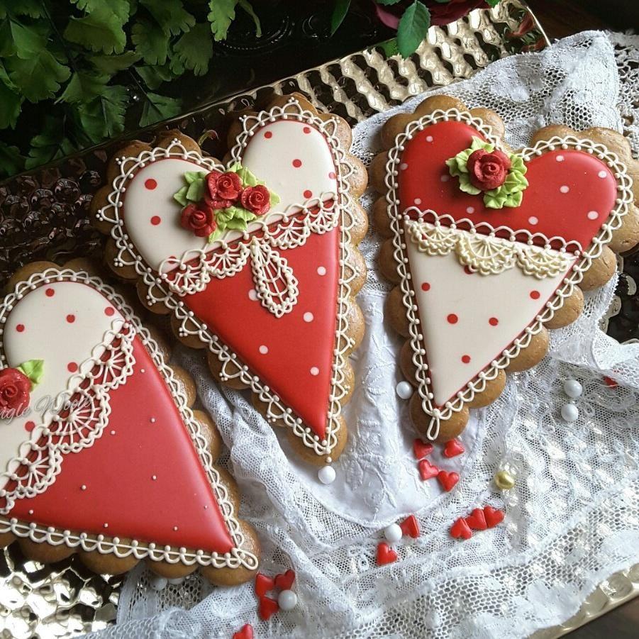 Valentines in red