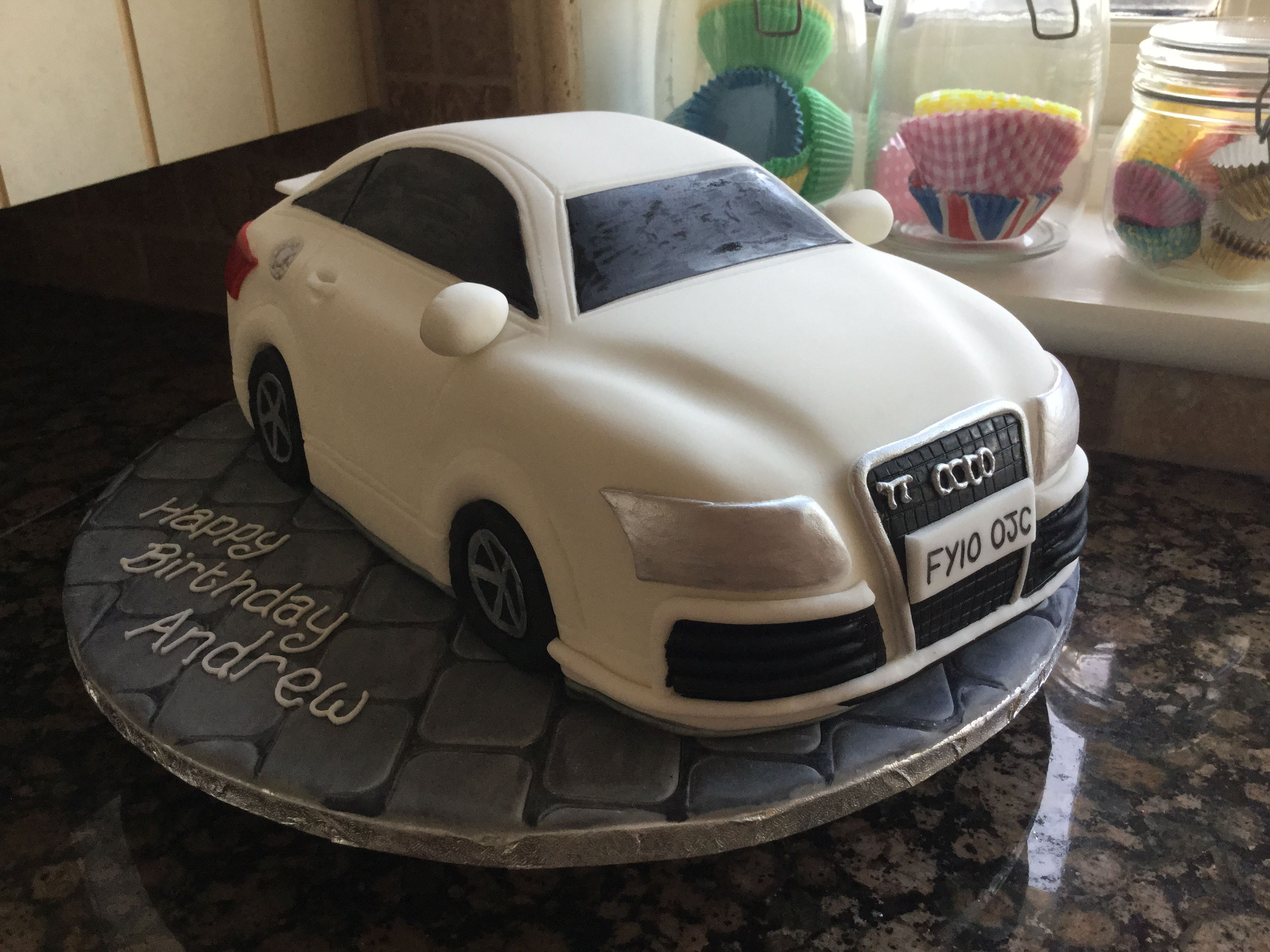 Audi Tt By Pink Teacup Cakes