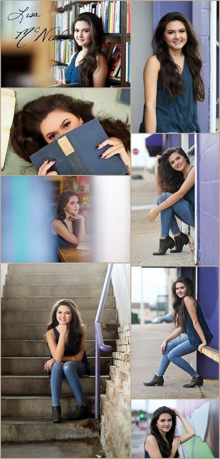 Senior pictures for the Academic by Flower Mound