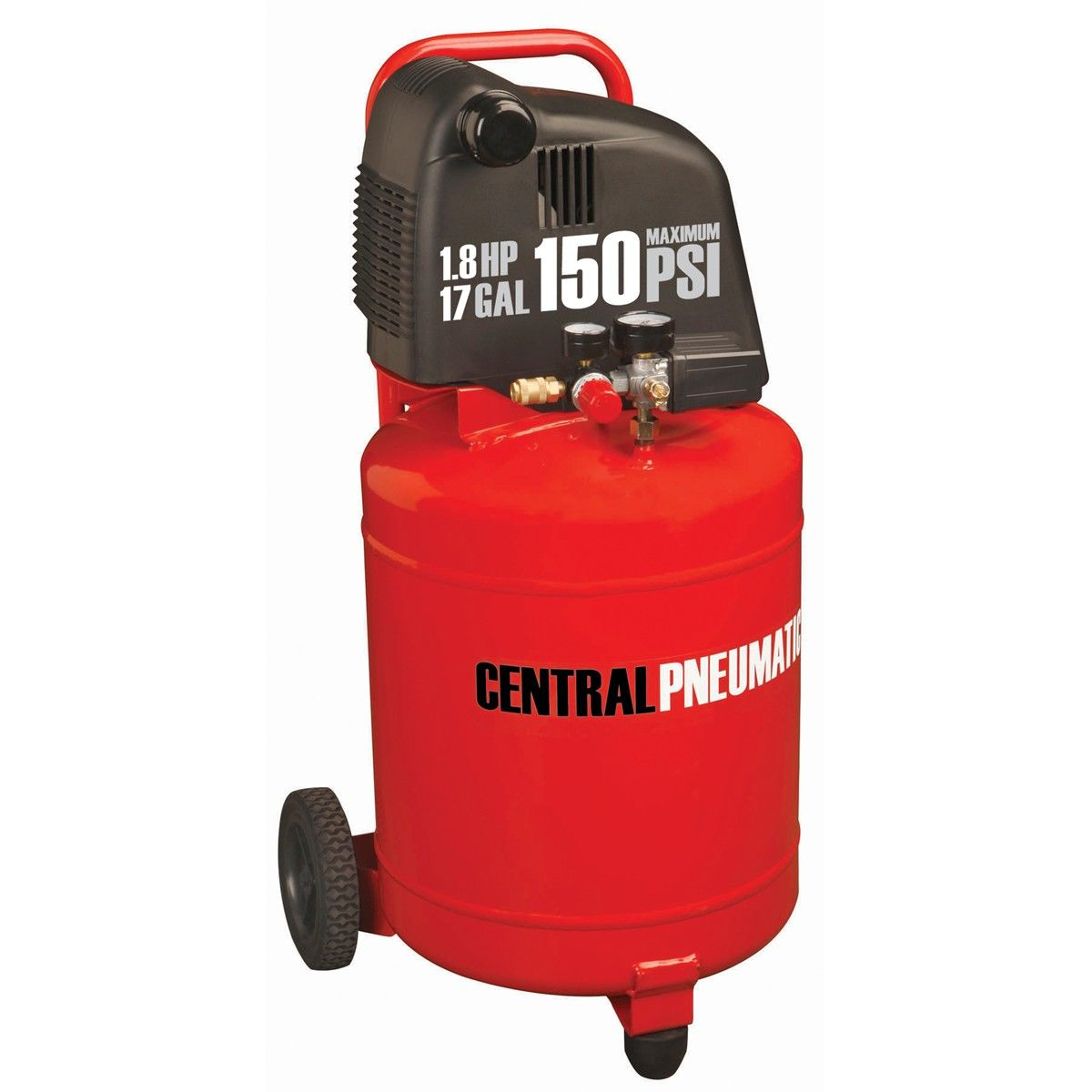 17 gal  1 8 HP 150 PSI Oil-Free Air Compressor | Tools in
