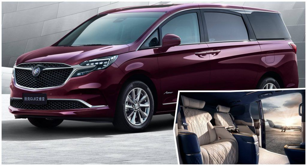 Facelifted Buick Gl8 Avenir Luxury Minivan Debuts In China With Throne Like Rear Seats Buick Has Started Taking Pre Orders For Its In 2020 Buick Gl8 Mini Van Buick