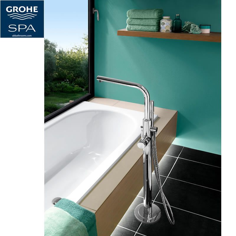 Home spa style. Grohe Atrio 7 Floor Mounted Bath Shower Mixer : UK ...