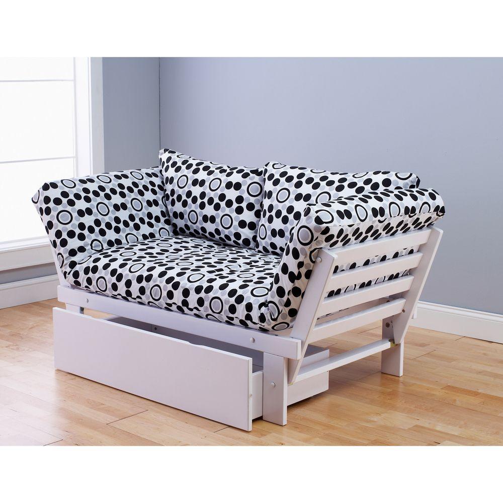 alite lounger white futon frame drawer and mattress set   overstock   reading area alite lounger white futon frame drawer and mattress set      rh   pinterest
