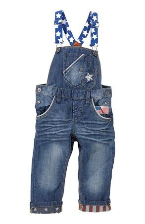 Mega fede Name it Smækbukser Buster Baggy/regular fit Medium denim Name it Bukser til Børn & teenager i behagelige materialer