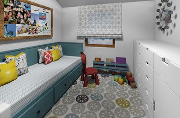 Small Flat - modern - Kids - Other Metro - Zaci Studio