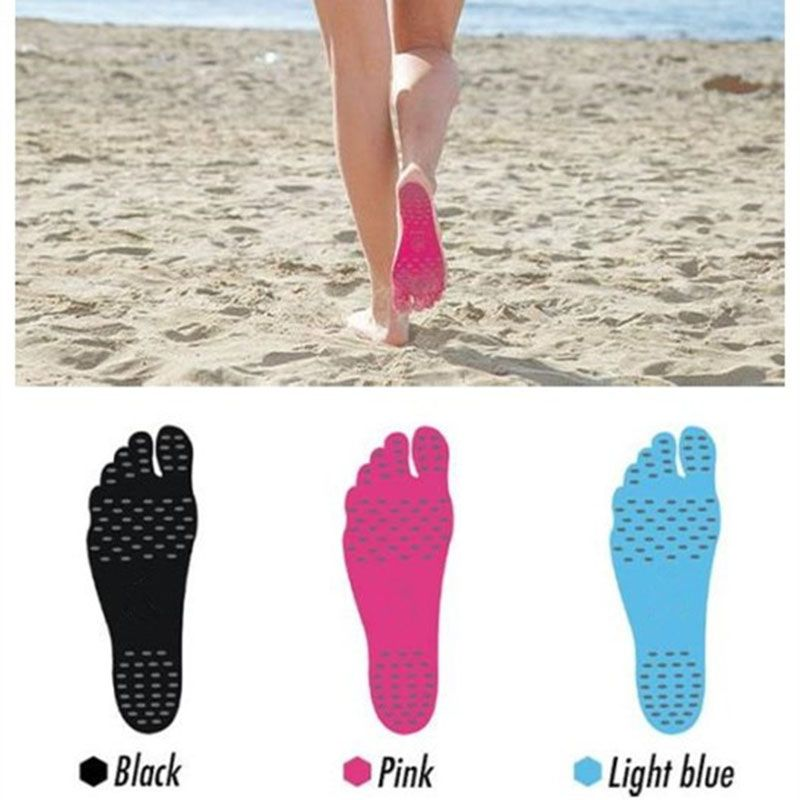 Invisible insoles Beach Non-slip Foot Sticker Care Shoe Sticky Foot Pads insoles