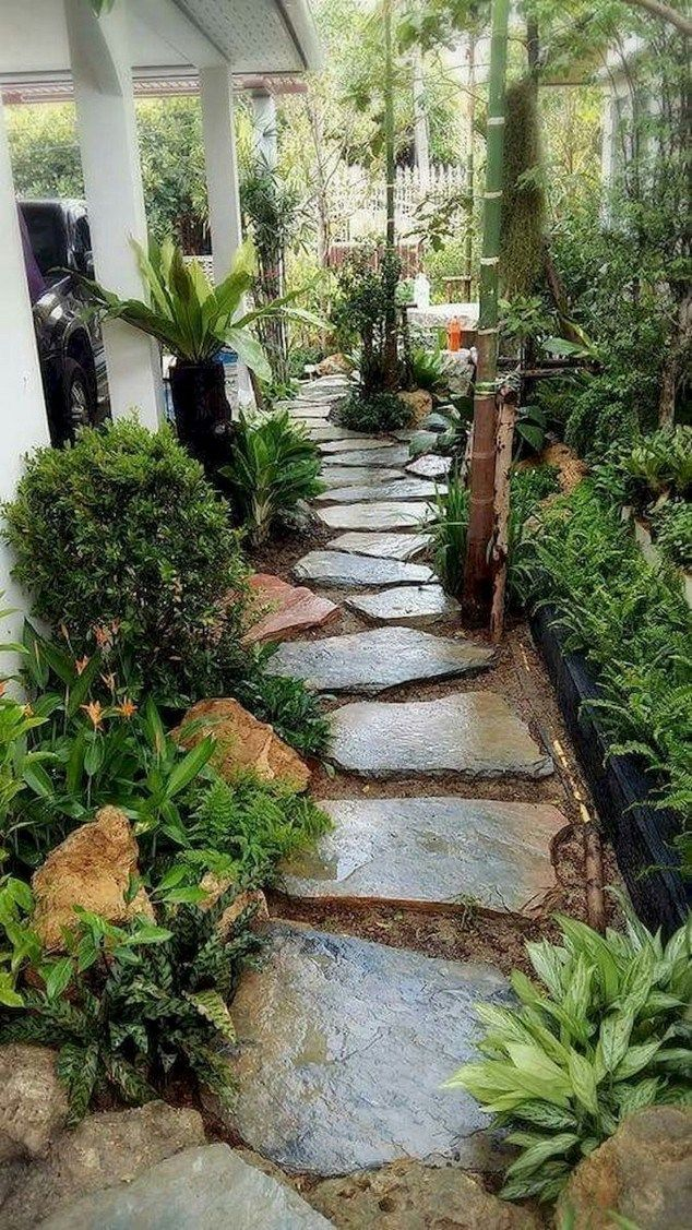 29 gorgeous side yard garden design ideas for beautiful on gorgeous small backyard landscaping ideas id=93878