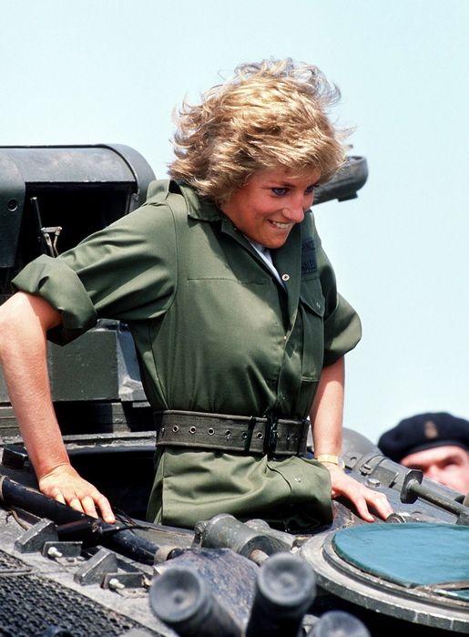 Princess Diana...what didn't she do?  Lol!