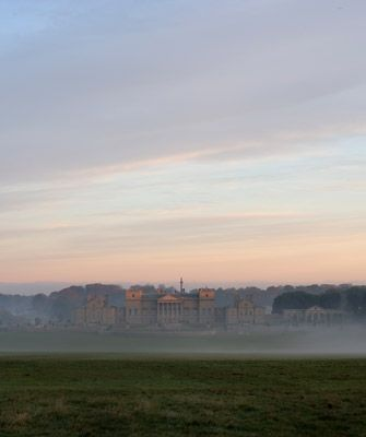 The south façade of Holkham Hall, taken by photographer Harry Cory Wright. www.holkham.co.uk