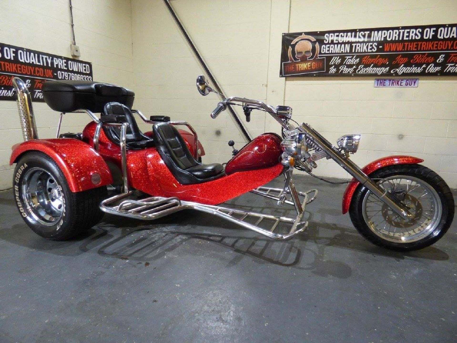 2006 Rewaco Hs4 Chopper 1600cc Limited Edition Trike Recently On Ebay Classified Ad Price 11 995 Contact Seller 033090 Trike Motorcycle Vw Trike Trike