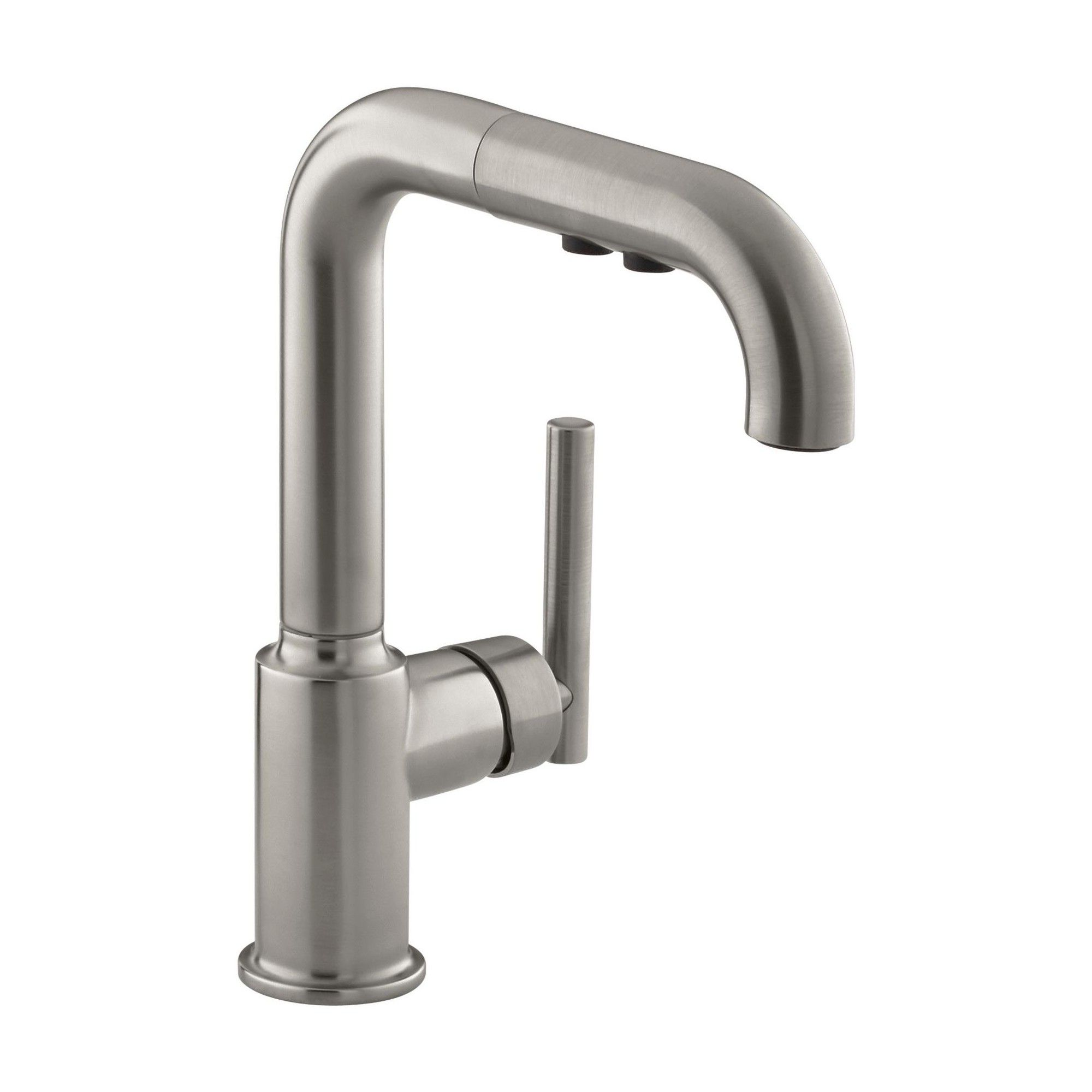 Kohler K 7506 Single Handle Kitchen Faucet With Pullout Spray From