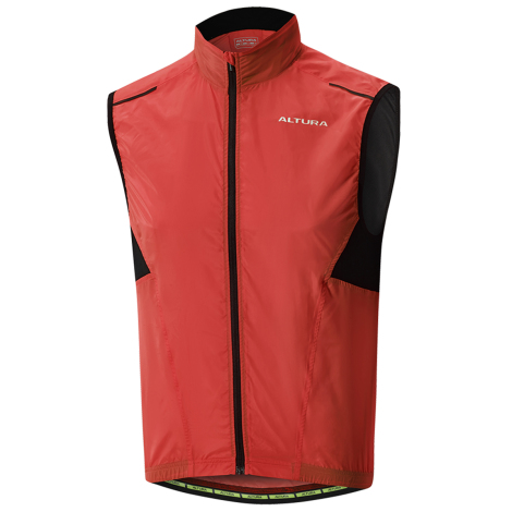 NEW Altura Airstream Windproof Cycling Vest Gillet Black