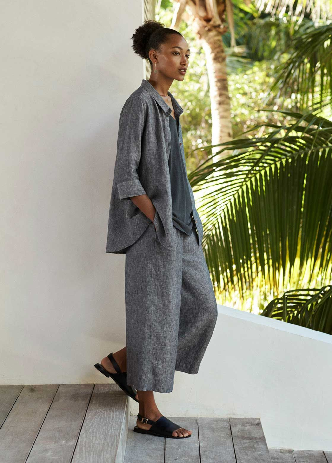 d5cb1611b7bb4c Poetry - Lookbook | Poetry | Linen trousers, Cropped linen trousers ...