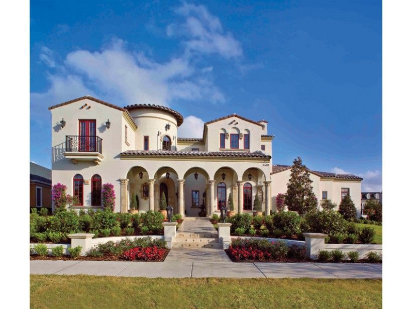 Mediterranean Style House Plan 6 Beds 5 Baths 6493 Sq Ft Plan 1058 1 Mediterranean House Plans Spanish House Spanish Style Homes