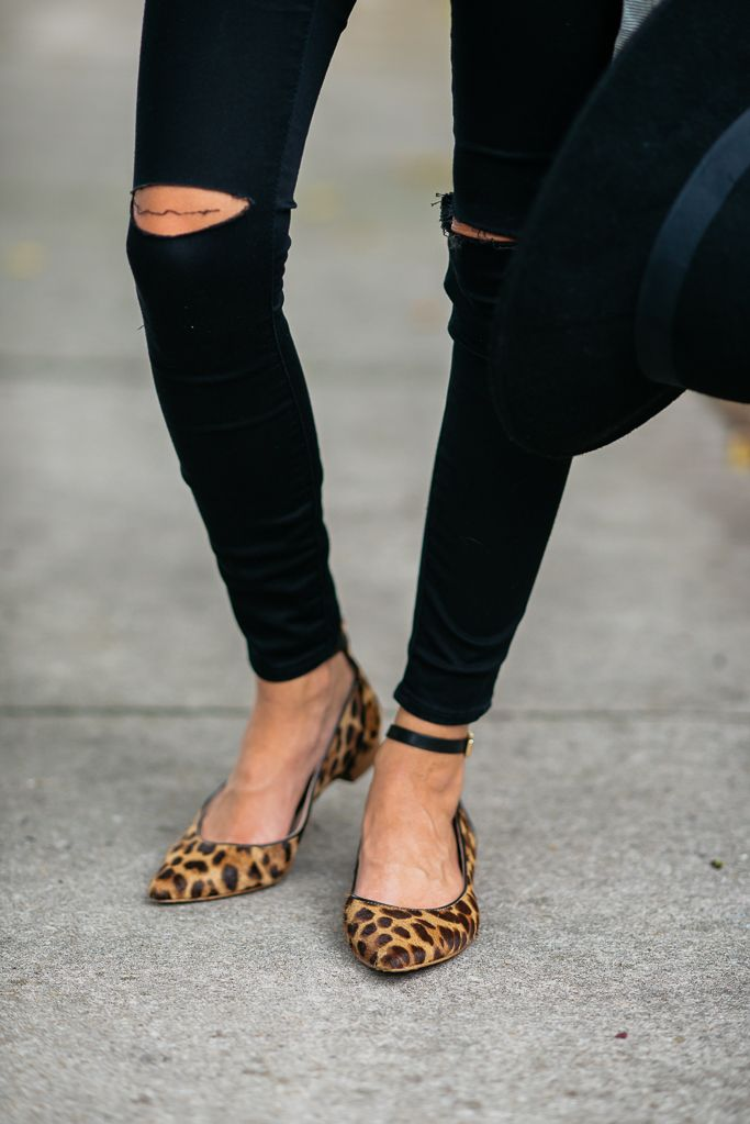 Sequins and Things: BLACK DISTRESSED DENIM + FALL OUTFIT INSPIRATION