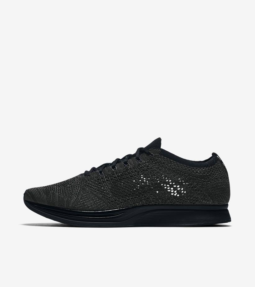 Nike Flyknit Racer Black Shoe