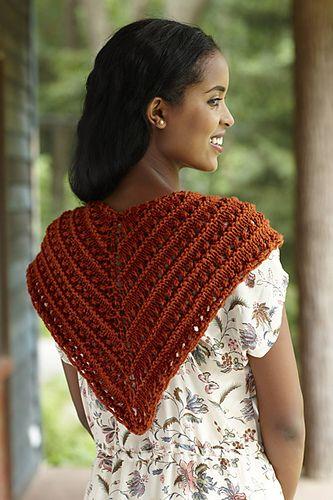 Ravelry Spice Route Shawl Pattern By Lion Brand Yarn Knitting