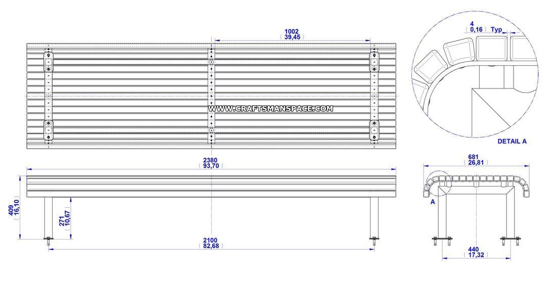Bench Construction Drawing Google Search Garden Bench