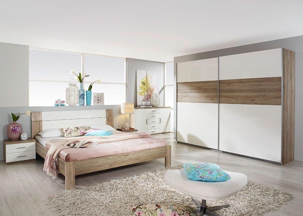 Schlafzimmer komplett Granada Weiß Sanremo 8372 Buy now at   - schlafzimmer weiss hochglanz
