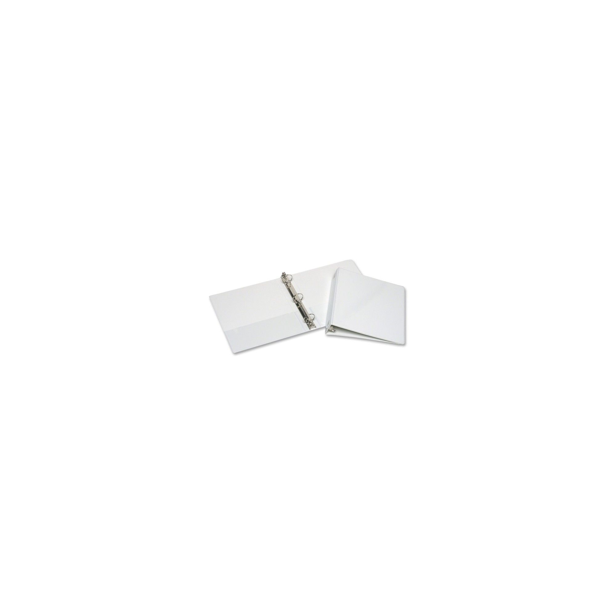 Skilcraft 3 Ring View Binders With Pocket White Sheet Sizes Binder Rings
