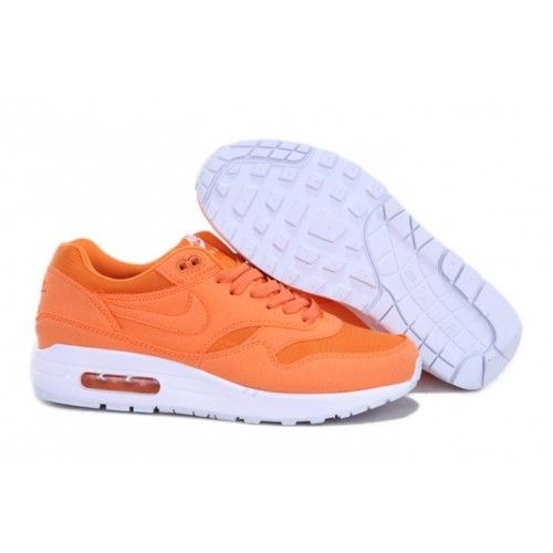 best authentic f549c 2da3a Nike Air Max 1 New Man Orange   White