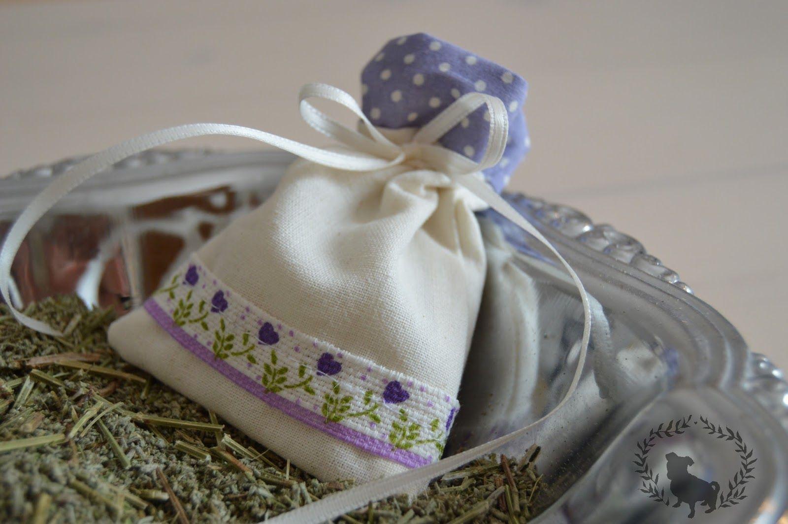 .DIY Duftsäckchen / Lavendelsäckchen